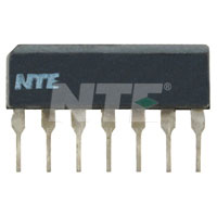 NTE1462 IC, Audio Preamp, 7-Lead SIP