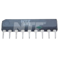 NTE1465 IC, Audio Power Amplifier, 500mW, 9-Lead SIP