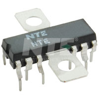 NTE1554 IC, 3-Phase Direct Drive Motor Driver, 12-Lead DIP w/Tab