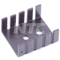 NTE402 Heat Sink for Mounting 2 Plastic Power Types (2Pk)