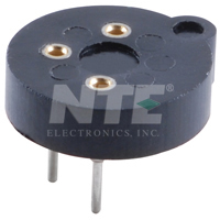 NTE419 Socket for 3 Lead TO-5 Package (2Pk)