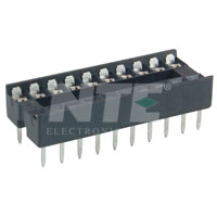 NTE435P20 Socket for 20-Pin DIP Package (2Pk)