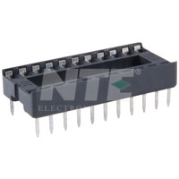 NTE435P22 Socket for 22-Pin DIP Package (2Pk)