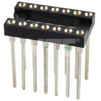 NTE436W24 Socket for 24-Pin DIP Package, Wire Wrap Leads
