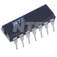NTE720 IC, FM Stereo Multiplex Demodulator, 14-Lead DIP