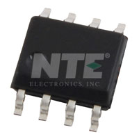 NTE858SM IC, Dual, Low-Noise JFET-Input Op-Amp, SOIC-8