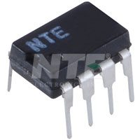 NTE889M IC, Dual, Low Power, JFET Op-Amp, 8-Lead DIP