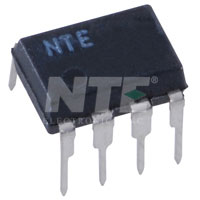 NTE894M IC, Low Noise Op-Amp, 8-Lead Mini-DIP