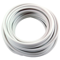 10Ft 6Awg White Stranded Automotive Hook Up Wire