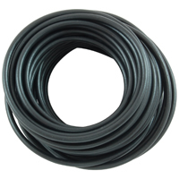 10Ft 8Awg Black Stranded Automotive Hook Up Wire