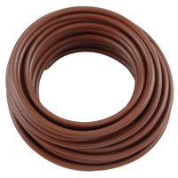 10Ft 8Awg Brown Stranded Automotive Hook Up Wire