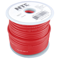 50Ft 18Awg Red Stranded Test Lead Wire 5000V EPDM Rubber